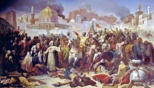 conquest of Jerrusalem, first crusade