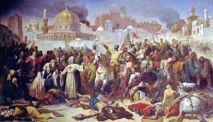 conquest of Jerrusalem, first crusade